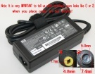 519329-002 laptop adapter, 18.5V 65W original HP adaptrar