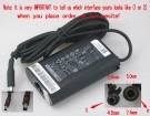06TM1C laptop adapter, 19.5V 45W original DELL adaptrar