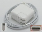 A1534 MacBook laptop adapter, 14.5V 29W original apple adaptrar