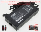 P180HM laptop adapter, 19.5V 230W original CLEVO adaptrar