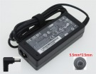 A040r074l laptop adapter, 19V 65W original schenker adaptrar