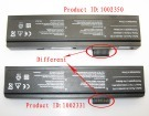 Eco 4500i batteri, 10.8V 4400mAh maxdata eco 4500i laptop batterier