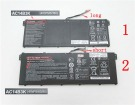 Ac14b3k batteri, 14.4V,or15.2V 3490mAh acer ac14b3k laptop batterier