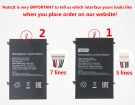 Hw-35100220 hög kapacitet batteri, 3.7V 10000mAh jumper hw-35100220 laptop batterier