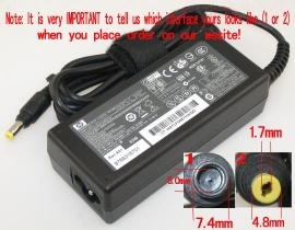 Pavilion ZE2000 Series laptop adapter, 18.5V 65W original HP adaptrar