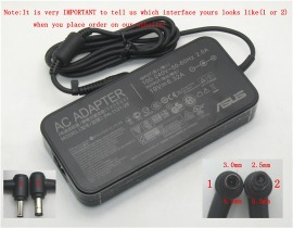 N43SN laptop adapter, 19V 120W original ASUS adaptrar