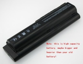 HSTNN-DB72 hög kapacitet batteri, 10.8V 8800mAh HP HSTNN-DB72 laptop batterier