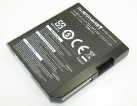F1712 hög kapacitet batteri, 14.8V 6600mAh dell f1712 laptop batterier