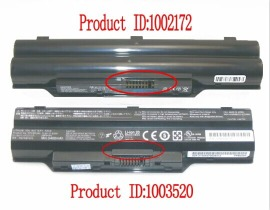 FPCBP390 hög kapacitet batteri, 10.8V 6700mAh FUJITSU FPCBP390 laptop batterier