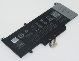 74XCR batteri, 3.7V 4864mAh DELL 74XCR laptop batterier