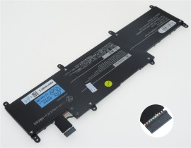 Pc-vp-bp129 batteri, 11.52V 3870mAh nec pc-vp-bp129 laptop batterier