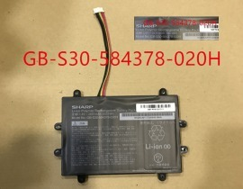 Gb-s30-584378-020h batteri, 11.4V 2635mAh sharp gb-s30-584378-020h laptop batterier